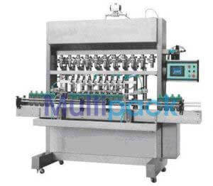 Automatic Eight Head Oil Filling Machine Model SB VOLUFIL