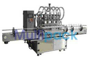 Automatic Six Head Oil Filling Machine Model SB VOLUFIL