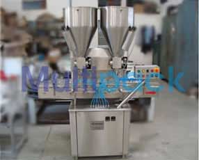 Automatic Double Head Automatic Cream-Lotion Filling Machine Model No. SBCPF-80 GMP