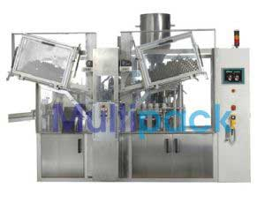 Double Head Aluminium Filling Crimping Machine