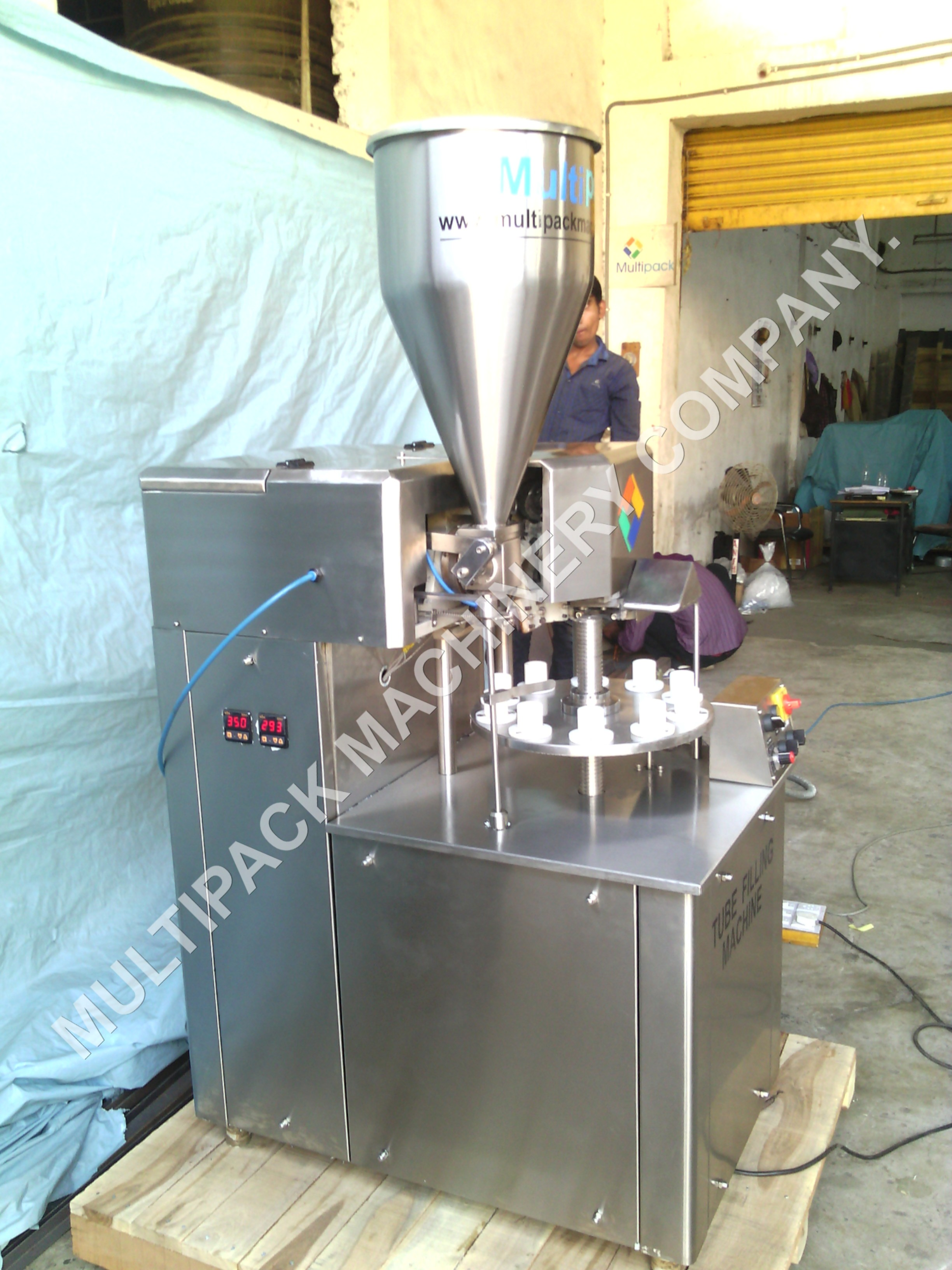 Cosmetic Tube Filling Sealing Machine Model No. SB 400 & 800