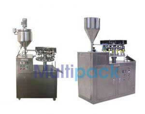 Semi Automatic Aluminium Tube Sealing Machine