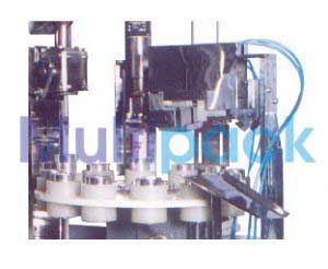 Semi Automatic Cream / Paste Filling Machine