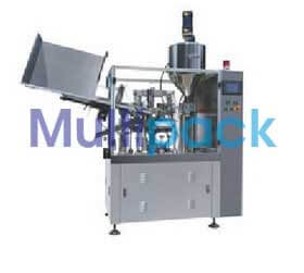 Automatic Double Head Tube Filling Sealing Machine Model No. SBTFS-80A GMP