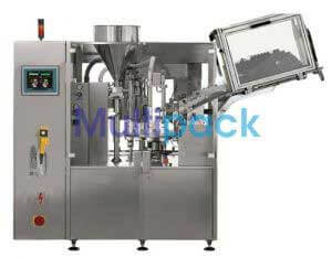 Single Head Rotary Aluminium Tube Filling Sealing Machine